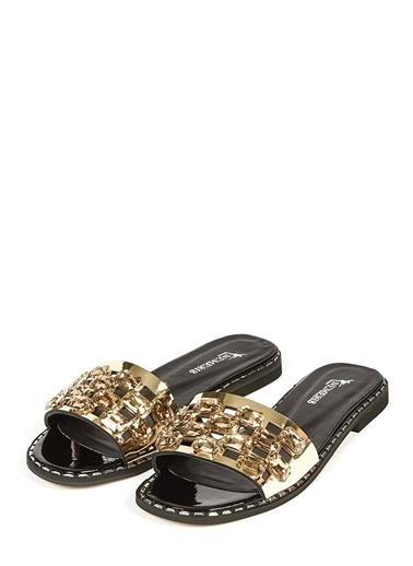 Nemesis Shoes Terlik Altın